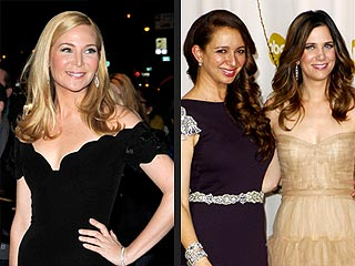 Jennifer Westfeldt&#39;s Celeb Crush: Bridesmaids Stars | Jennifer Westfeldt, Kristen Wiig, Maya Rudolph