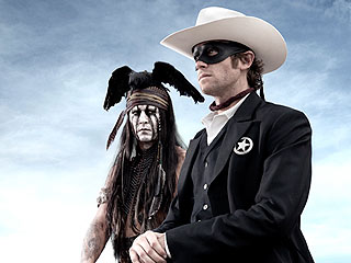 See Johnny Depp as Tonto in The Lone Ranger | Johnny Depp