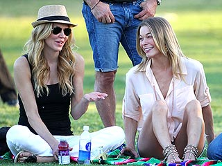 PHOTO: Brandi & LeAnn Team Up at a Soccer Game | Brandi Glanville, LeAnn Rimes