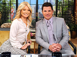 Nick Says He'll Coach Vanessa in the Delivery Room | Kelly Ripa, Nick Lachey