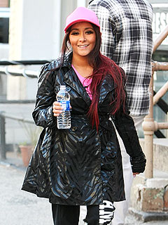 Will Pregnant Snooki Return to Jersey Shore? | Nicole Polizzi