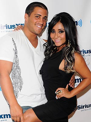 Snooki with friendly, Husband Jionni LaValle
