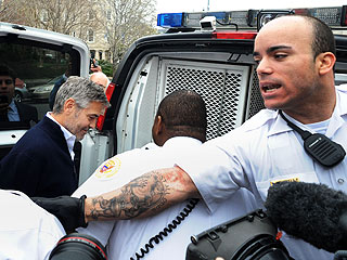 George Clooney Arrested in Sudan Protest| Crime & Courts, Good Deeds, George Clooney