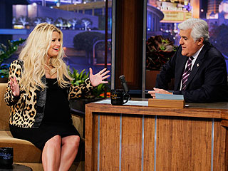 Jessica Simpson: It's Hard Being Pregnant in Heels | Jay Leno, Jessica Simpson
