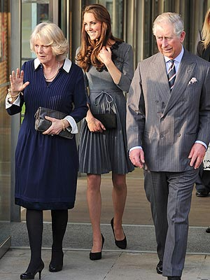 Kate's Latest Accessory: A Hockey Stick| Camilla, The British Royals, Kate Middleton, Prince Charles, Prince William