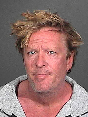 Michael Madsen Mug Shot, Arrested for Child Cruelty