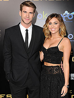 Liam Hemsworth Says Miley Would Beat Him in the Hunger Games | Liam Hemsworth, Miley Cyrus