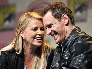Charlize Theron Impressed by Michael Fassbender's 'Manhood' | Charlize Theron, Michael Fassbender