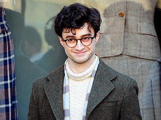 FIRST LOOK: Daniel Radcliffe as Beat Poet Allen Ginsberg | Daniel Radcliffe