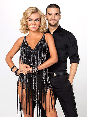 Dancing with the Stars Couples Take on the Jive & Quickstep| Dancing With the Stars, Bruno Tonioli, Carrie Ann Inaba, Donald Driver, Gavin DeGraw, Len Goodman, Maksim Chmerkovskiy, Maria Menounos, Melissa Gilbert, Roshon Fegan, Sherri Shepherd