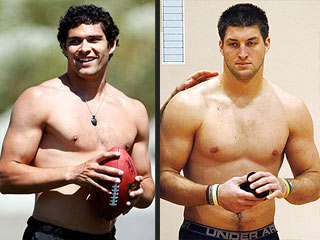 Who's The Hotter QB, Tim Tebow or Mark Sanchez? | Mark Sanchez, Tim Tebow
