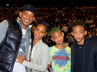 Will & Jada Are Caught Kissing Courtside | Will Smith