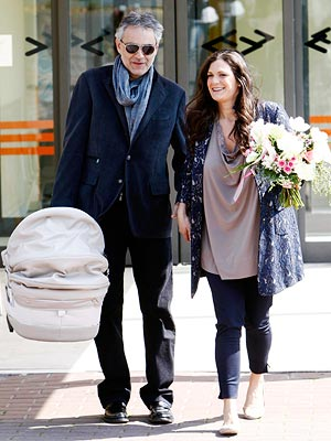 Andrea Bocelli & Fiancée Welcome a Daughter