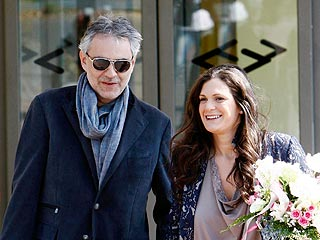 Andrea Bocelli & Fiancée Welcome a Daughter | Andrea Bocelli