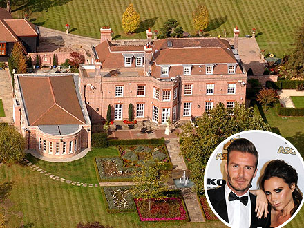 David Beckham, Victoria Beckham Selling British Mansion