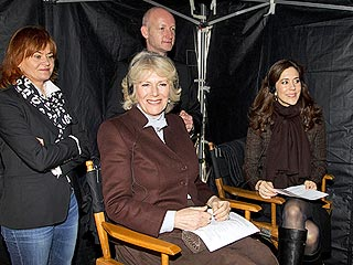 Camilla Pulls a Gun on the Set of The Killing| The Killing, The British Royals, The Royals, TV News, Camilla Parker Bowles, Prince Charles