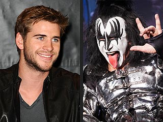 Liam Hemsworth and KISS to Present at ACM Awards | Kiss, Gene Simmons, Liam Hemsworth