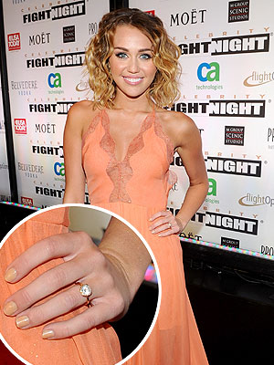 Liam Hemsworth, Miley Cyrus: Engaged?