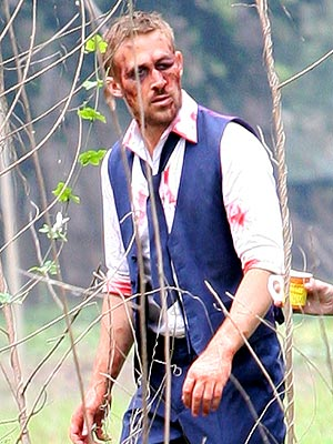 Ryan Gosling Gets Bloodied in Thailand