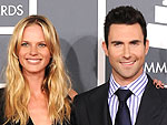 Adam Levine and Model Girlfriend Anne V Split | Adam Levine