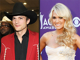 The Best of the ACM Awards: Carrie Underwood, Ashton Kutcher and More! | Ashton Kutcher, Carrie Underwood