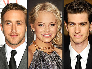 Would Emma Stone Rather Kiss Ryan Gosling or Andrew Garfield? | Andrew Garfield, Emma Stone, Ryan Gosling
