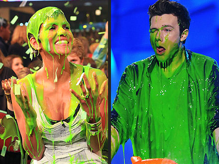 Halle Berry, Justin Bieber Get Slimed at Kids' Choice| Kids' Choice Awards, Chris Colfer, Halle Berry, Will Smith