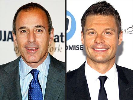 Ryan Seacrest, Matt Lauer Interview