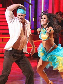 William Levy's Sexy Abs Inspire Dancing Competitors to Take It Off | Cheryl Bur