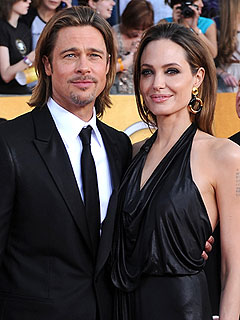 Jolie-Pitt Family Heads to France for Toys, Pizza, Fun! | Angelina Jolie, Brad Pitt