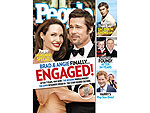 All About Brad & Angelina's Engagement – and the Ring! | Angelina Jolie, Brad Pitt