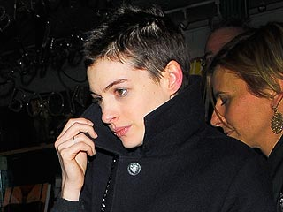 See Anne Hathaway's Drastic New Hairstyle | Anne Hathaway
