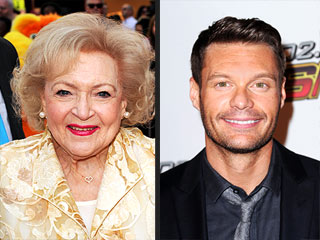 Betty White Flirts with Ryan Seacrest on Twitter | Betty White, Ryan Seacrest