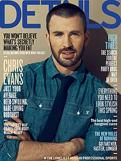 Chris Evans Likes a Woman to Keep Him on His Toes | Chris Evans