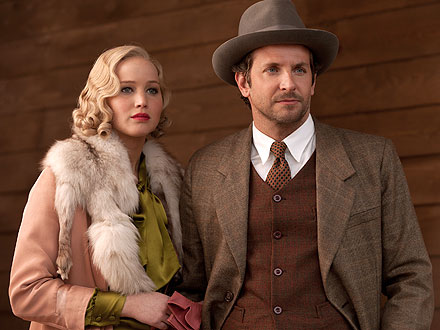 Jennifer Lawrence & Bradley Cooper in &#39;Serena&#39; - Photo