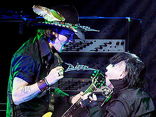 Johnny Depp & Marilyn Manson Rock Out in Los Angeles (VIDEO) | Johnny Depp, Marilyn Manson