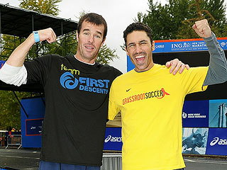 Ryan Sutter Running the Boston Marathon for Ethan Zohn | Ethan Zohn, Ryan Sutter