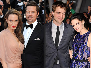 Brad & Angelina, Rob & Kristen to Light Up Cannes Film Festival | Angelina Jolie, Brad Pitt, Kristen Stewart, Robert Pattinson