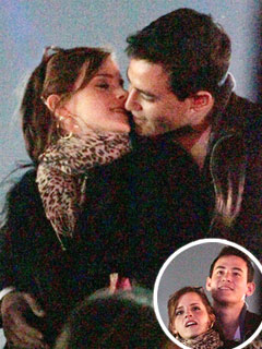 PHOTO: Emma Watson Kisses Her New Man at Coachella | Emma Watson
