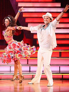 Gavin DeGraw & Karina Smirnoff  Eliminated on Dancing with the Stars | Gavin DeGraw, Karina Smirnoff