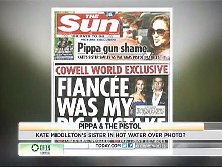 Pippa Middleton Caught Up in Gun Scandal| Scandals & Feuds, Celebrity Scandals, The Royals, Pippa Middleton
