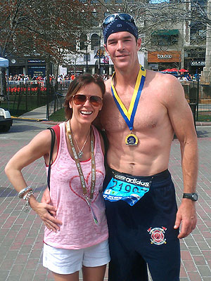 Boston Marathon Completed by Ryan Sutter