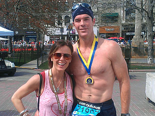 Ryan Sutter Completes 'Painful' Boston Marathon for Ethan Zohn | Ryan Sutter, Trista Rehn