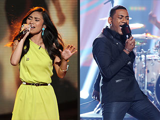 Idol's Jessica Sanchez, Joshua Ledet Thrill with Quee