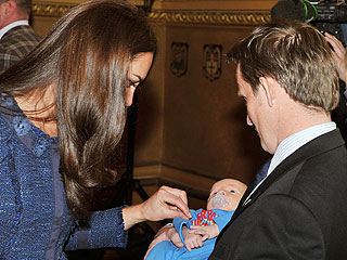 Prince William and Kate Middleton Dote on Newborn Baby| Babies, Kate Middleton, Prince William