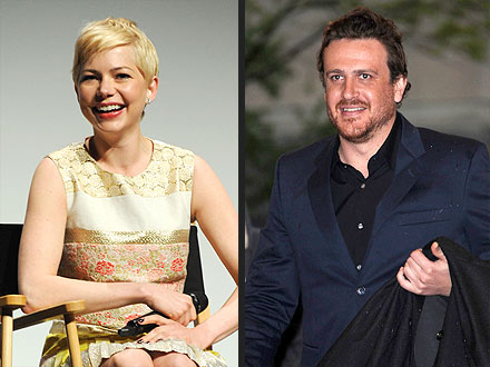 Jason Segel, Michelle Williams Tribeca Film Fest