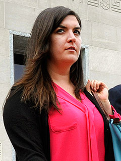 John Edwards's Daughter Cate Leaves Courtroom in Tears