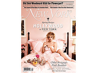 PHOTO: Chloë Sevigny Poses in Bed for Naked New York Cover