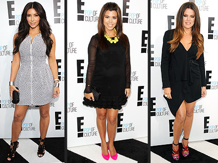Kim Kardashian, Kourtney and Khloe