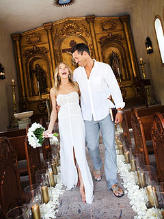 See LeAnn & Eddie Walking Down the Aisle – Again! | Eddie Cibrian, LeAnn Rimes